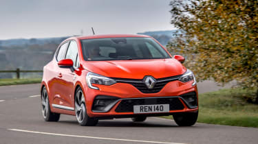 Renault Clio - front tracking