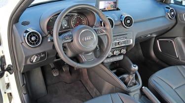 Audi A1 Sportback 1.6 TDI interior