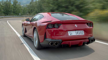 Ferrari 812 Superfast - rear