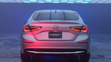 2018 Honda Insight rear