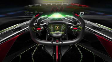 Lamborghini Lambo V12 Gran Turismo - interior
