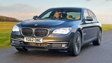 BMW 730Ld front tracking