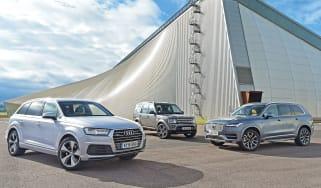 Audi Q7 vs Volvo XC90 & Land Rover Discovery