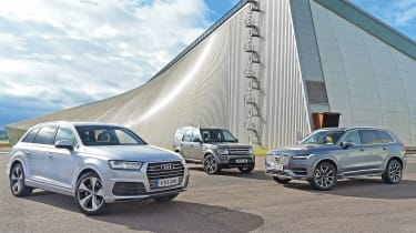 Audi Q7 vs Volvo XC90 & Land Rover Discovery