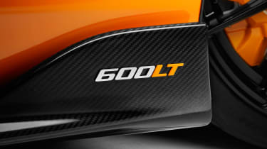 McLaren 600LT - 600LT badge