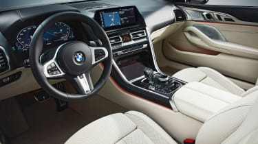 BMW 8 Series Convertible - dash