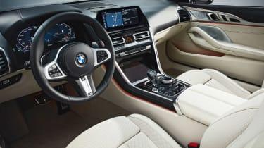 BMW 8 Series Convertible - dash