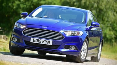 Ford Mondeo - front blue