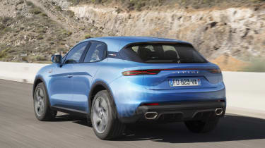New Alpine SUV exclusive images rear