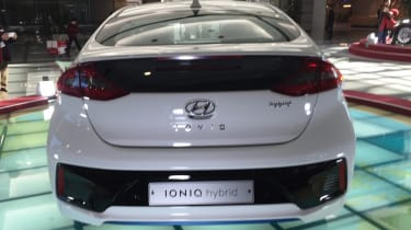 Hyundai Ioniq - Korea rear