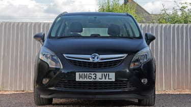 Used Vauxhall Zafira Tourer - full front
