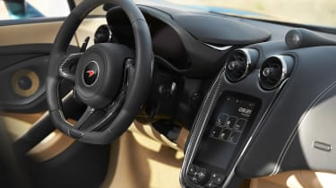 McLaren 570GT - dash