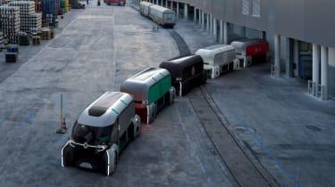 Renault EZ-Pro - train