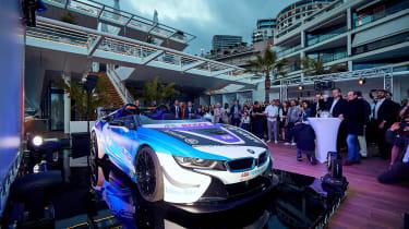 BMW i8 Roadster Formula E safety car - front reveal