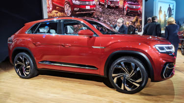 Volkswagen Atlas Cross Sport concept - New York side