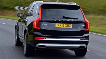 Volvo XC90 - full rear