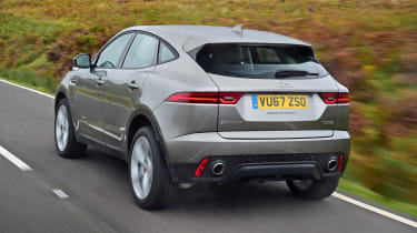 Jaguar E-Pace prototype - rear