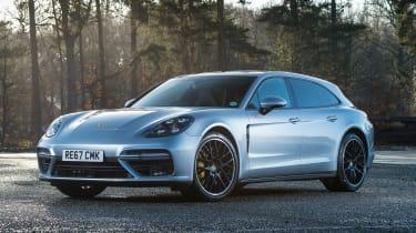 Porsche Panamera Turbo Sport Turismo - front static