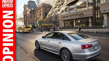 Audi traffic lights opinion