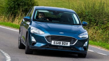 Ford Focus - front action