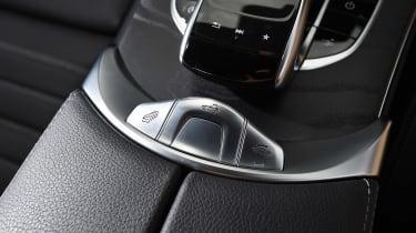 Range Rover Evoque Convertible vs Mercedes C-Class Cabriolet - C-Class centre console