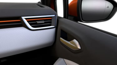 Renault Clio - wing mirror