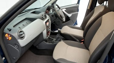 Used Dacia Duster - front seats