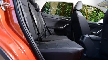 Volkswagen T-Cross Black Edition - rear seats