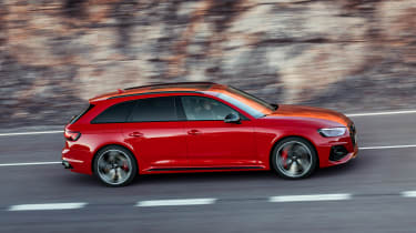 Audi RS 4 Avant - side
