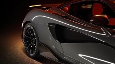 McLaren 600LT - aero
