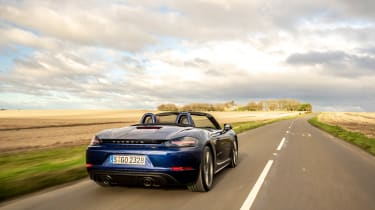 Porsche Boxster GTS 4.0 PDK rear tracking