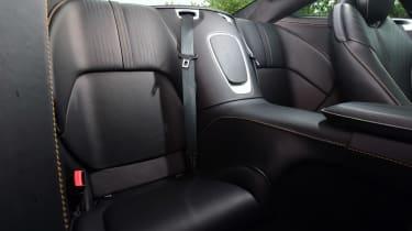 Aston Martin DB11 - rear seats