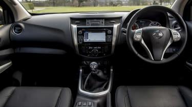 Nissan Navara first UK drive - interior