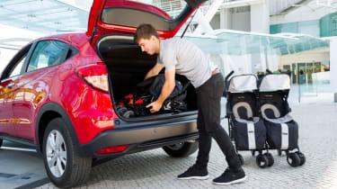 Honda HR-V - boot open