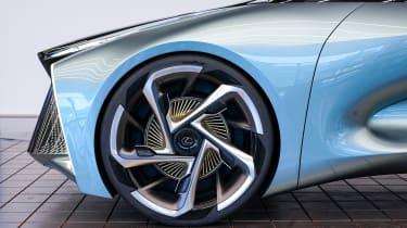 Lexus LF-30 concept car Tokyo 2019 wheel detail