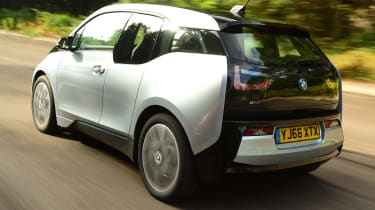 Long-term test review: BMW i3 REx rear tracking