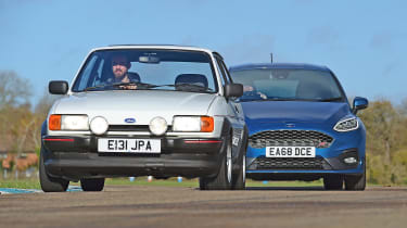Ford Fiesta XR2 vs Ford Fiesta ST - header