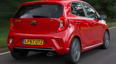 Triple test – Kia Picanto - rear quarter