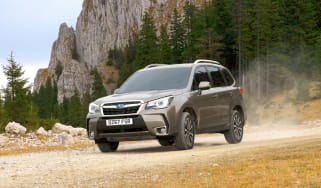 Subaru Forester - front action