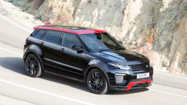 Range Rover Evoque Ember front cornering
