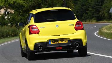 Suzuki Swift Sport long-term test - rear