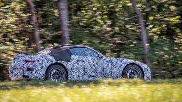 Mercedes SL 2021 - side