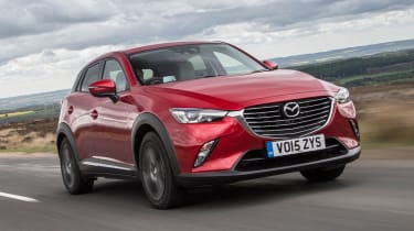 Mazda CX-3 - front action
