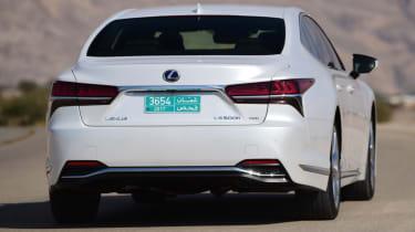 Lexus LS 500h 2018 review - rear