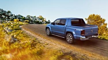 Volkswagen Amarok facelift - rear three quarter