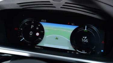 Jaguar I-Pace dashboard instruments