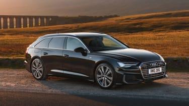 Audi A6 Avant - front 3/4