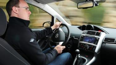 Toyota Verso driving