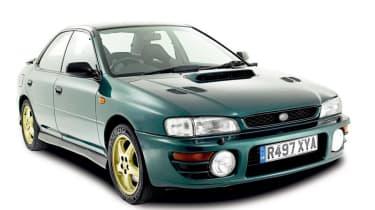 Front view of Subaru Impreza