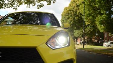 Suzuki Swift Sport long-term test - Headlight